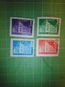 ルーマニア建造物切手4種類♪
