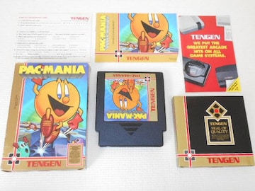 FC★PAC-MANIA NES 海外版(国内本体動作不可)
