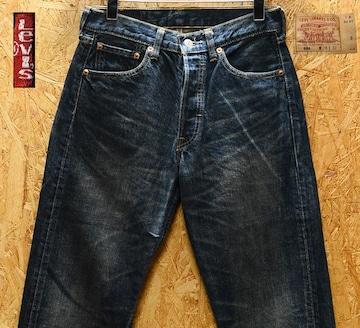 廃盤 W28 リーバイス501-01 / 股下74cm