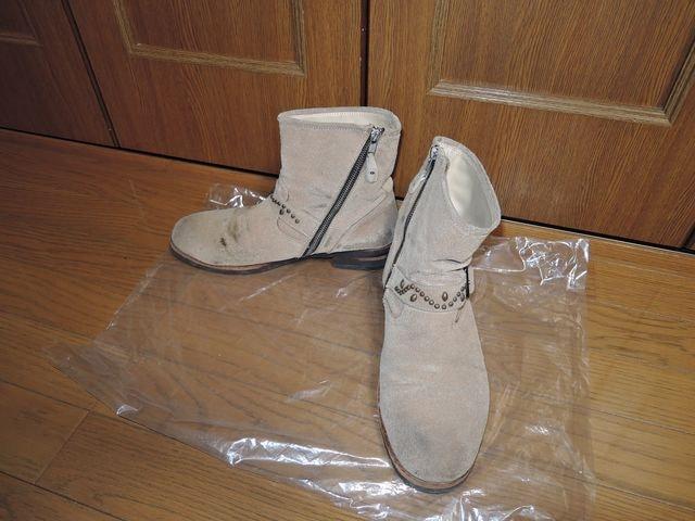 マーブルズMARBLESスタッズ付ショートブーツM靴TMT  < ブランドの
