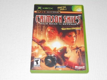 xbox★CRIMSON SKIES HIGH ROAD TO REVENGE 海外版