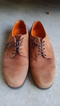 REGAL  薄茶 革靴  GEOX  25.5cm