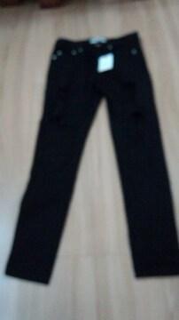 グレイル新品タグ付きダメージパンツ黒W59〜61センチ