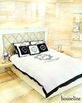 レディRadyホテルシリーズベッドカバー ホワイトシングルサイズ
