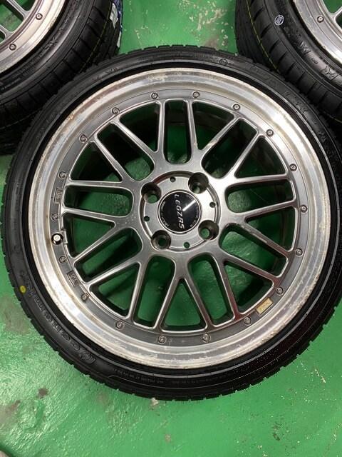7071560)激安レグザメッシュホイ-ル新品タイヤ4本セット165/45R16送料無料 < 自動車/バイク