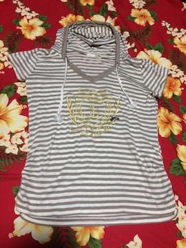 ☆favori☆可愛いマリンベージュパーカーTシャツ☆