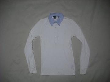 wr543 女 Ralph Lauren ラルフローレン 長袖ポロシャツ XSサイズ