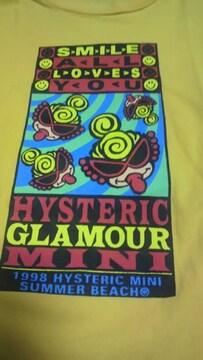 ★ヒスミニ★半袖★Tシャツ★黄色