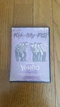 キスマイYOSHIO DVD美品