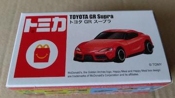 トミカ トヨタGRスープラ マクドナルドハッピーセッ未開封品