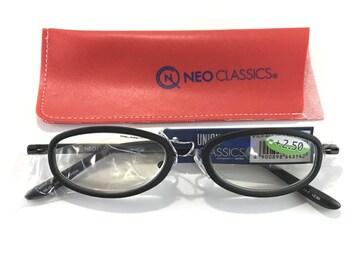 新品♪ +2.50 NEO CLASSIC リーディンググラス 老眼鏡
