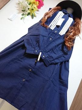 ★新品タグ8L★起毛素材★レースシャツチュニ¥5469