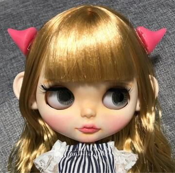 ブライス 悪魔 ヘアピン ピンク