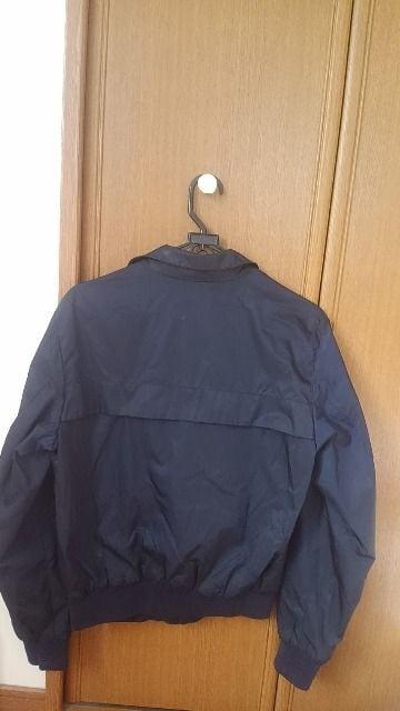 モンクレール ジャケット 1 濃紺色 灰色 上着 MONCLER < ブランドの