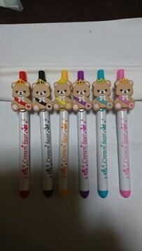 ナムコ×King&Prince クラウンベアボールペン 6種類コンプ キンプリ