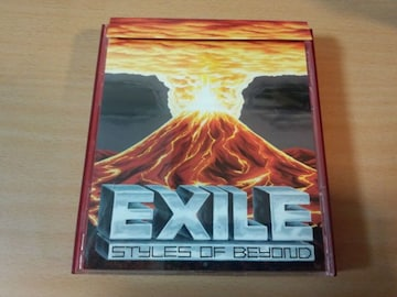 EXILE CD「Styles Of Beyond」初回盤DVD付き●