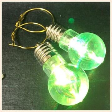 電球ピアス 2個セット