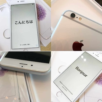 値下げ 返品保証付き 美品 docomo iPhone6 16GB シルバー