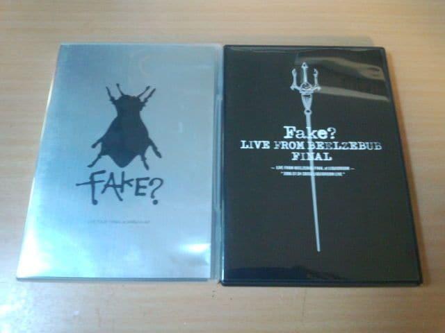 FAKE? DVD2枚セット★KEN INORAN Oblivion Dust LUNA SEA  < タレントグッズの