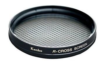 人気急上昇!レンズフィルター R-クロススクリーン 67mm
