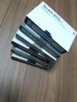 中古ベータテープ 6本セット