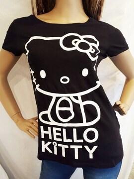 H&M キティ モノトーン Tシャツ サンリオ ピューロランドに